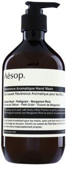 Aēsop Body Reverence Aromatique sabão liquido com efeito esfoliante para mãos