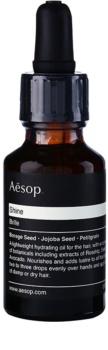 Aēsop Hair Shine hidratáló olaj száraz és rakoncátlan hajra