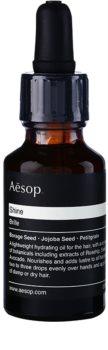 Aésop Hair Shine huile hydratante pour cheveux secs et indisciplinés