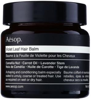 Aésop Hair Violet Leaf baume définition pour cheveux indisciplinés et frisottis