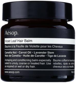 Aésop Hair Violet Leaf tvarujúci balzam pre nepoddajné a krepovité vlasy