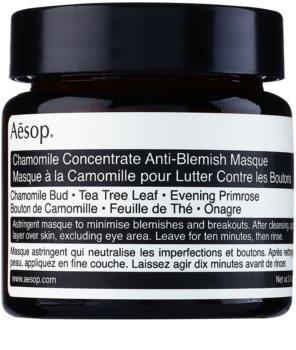 Aésop Skin Chamomile masca de curatare pentru pielea problematica