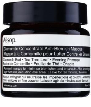 Aésop Skin Chamomile masque purifiant pour peaux à problèmes