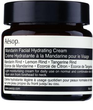 Aēsop Skin Mandarin crème de jour légère hydratante pour peaux normales à mixtes