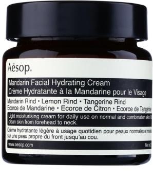 Aésop Skin Mandarin könnyű hidratáló nappali krém normál és kombinált bőrre