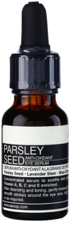 Aēsop Skin Parsley Seed antioxidační sérum na oční okolí