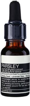 Aēsop Skin Parsley Seed sérum antioxydant contour des yeux