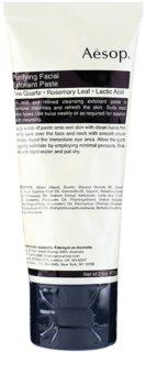 Aésop Skin Purifying crema exfolianta blanda.