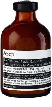 Aēsop Skin Tea Tree Leaf exfoliant pulbere