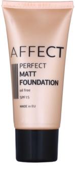 Affect Perfect Matt стійкий тональний крем SPF 15