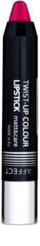 Affect Twist-up Colour Verzorgende Lippenstift  met Matterend Effect