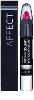 Affect Twist-up Colour pflegender Lippenstift mit Matt-Effekt