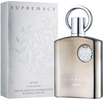 Afnan Supremacy Silver eau de parfum pour homme 100 ml