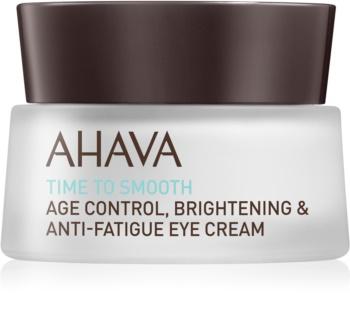 Ahava Time To Smooth hydratisierende Augencreme mit glättender Wirkung