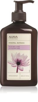 Ahava Mineral Botanic Lotus & Chestnut baršunasto mlijeko za tijelo