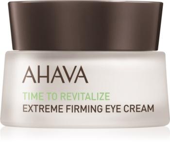 Ahava Time To Revitalize krema za učvrstitev kože okoli oči proti gubam