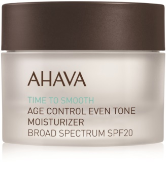 Ahava Time To Smooth posvjetljujuća hidratantna krema SPF 20
