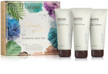 Ahava Dead Sea Water Elemental Body Trio zestaw kosmetyków I.