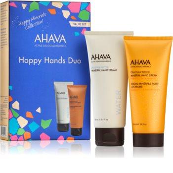 Ahava Dead Sea Water Happy Hands DUO zestaw kosmetyków I.