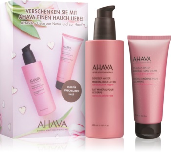 Ahava Dead Sea Water Cactus & Pink Pepper kozmetični set I.