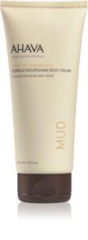 Ahava Dead Sea Mud nährende Körpercreme 200 ml für trockene und empfindliche Haut