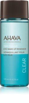 Ahava Time To Clear proizvod za skidanje vodootpornog pudera za područje oko očiju za osjetljive oči