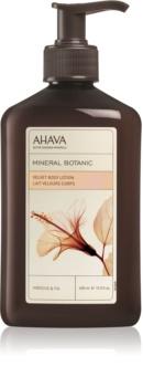 Ahava Mineral Botanic Hibiscus & Fig svilnati losjon za telo