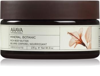 Ahava Mineral Botanic Hibiscus & Fig vyživujúce telové maslo