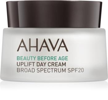 Ahava Beauty Before Age liftingový krém pro rozjasnění a vyhlazení pleti SPF 20
