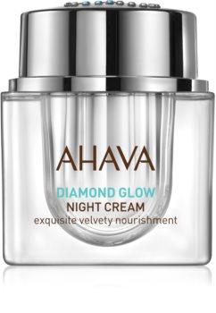 Ahava Diamond Glow luxusní noční krém s čistým diamantovým prachem proti stárnutí pleti
