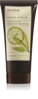 Ahava Mineral Botanic Lemon & Sage delikatny krem do rąk