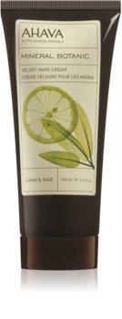 Ahava Mineral Botanic Lemon & Sage nežna krema za roke
