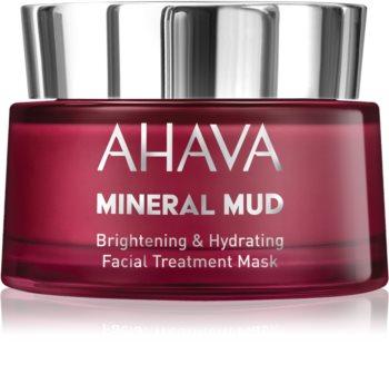 Ahava Mineral Mud rozjasňující pleťová maska s hydratačním účinkem