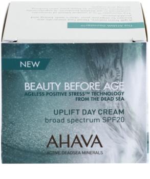 Ahava Beauty Before Age liftingový krém pro rozjasnění a vyhlazení pleti