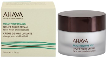 Ahava Beauty Before Age noćna lifting krema za lice, vrat i dekolte