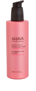 Ahava Deadsea Water Cactus & Pink Pepper Körpermilch mit Mineralien