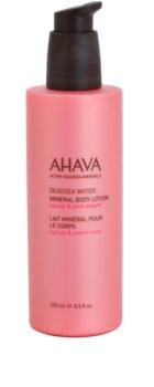 Ahava Deadsea Water Cactus & Pink Pepper mleczko do ciała z minerałami