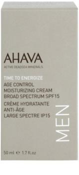 Ahava Time To Energize Men omlazující hydratační krém SPF15