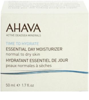 Ahava Time To Hydrate denní hydratační krém pro normální až suchou pleť