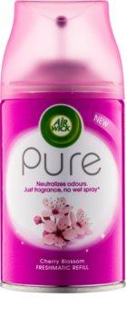 Air Wick Pure Cherry Blossom automat de odorizare a aerului 250 ml Refil