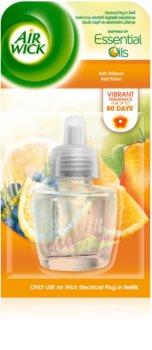 Air Wick Essential Oils Anti Tobacco diffuseur électrique de parfum d'ambiance 19 ml recharge