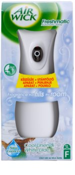Air Wick Freshmatic osvežilec zraka 250 ml  (Cool Linen/White Lilac)