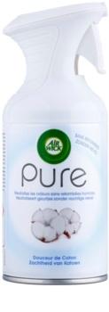 Air Wick Pure Soft Cotton spray para o lar 250 ml