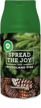 Air Wick Spread the Joy Woodland Pine automatický osvěžovač vzduchu 250 ml náhradní náplň