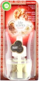 Air Wick Life Scents Warm Apple Crisp diffuseur électrique de parfum d'ambiance 19 ml recharge