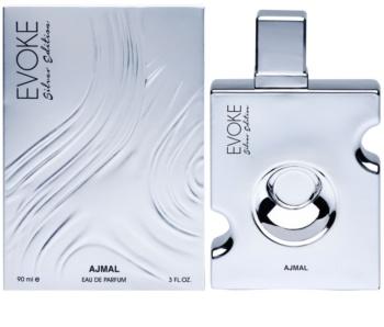 Ajmal Evoke Silver Edition Eau de Parfum para homens 90 ml