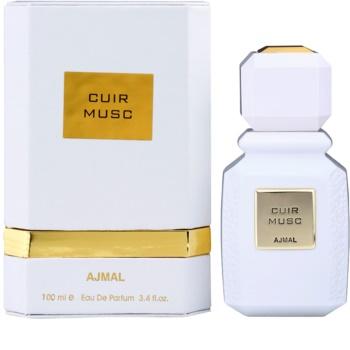 Ajmal Cuir Musc eau de parfum mixte
