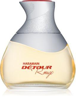 Al Haramain Détour rouge eau de parfum pentru femei 100 ml