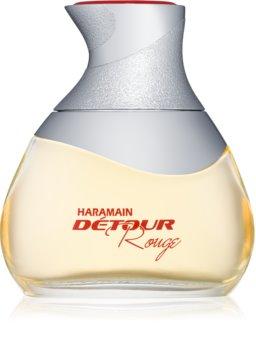 Al Haramain Détour rouge eau de parfum pour femme 100 ml
