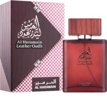 Al Haramain Leather Oudh eau de parfum férfiaknak 100 ml